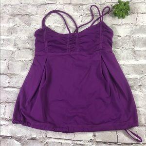 Lululemon purple magenta tank